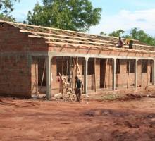 Die zwei neuen Klassenzimmer